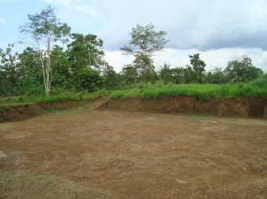 """remediated"" oil pit"